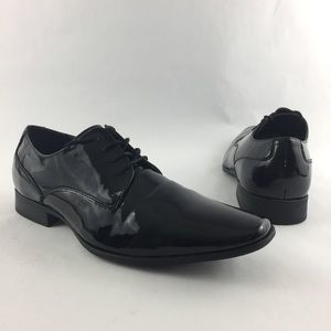 Calvin Klein CK Brodie Patent Leather Dress Shoes